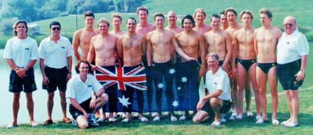 1995 AUS junior team 4 001