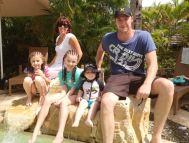 Gavin Woods+family