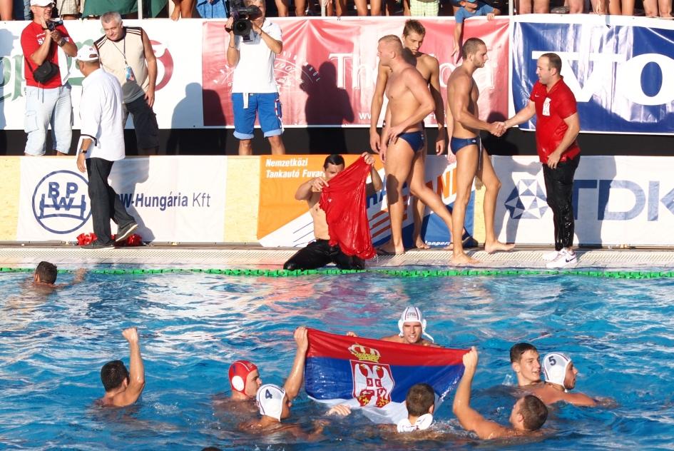 Serbia celebrates