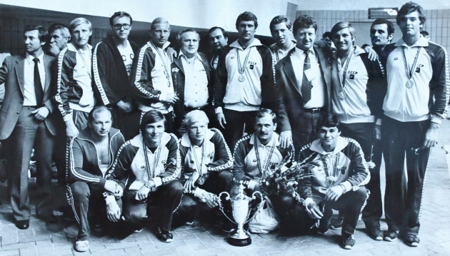 USSR 1980 Olympic water polo team